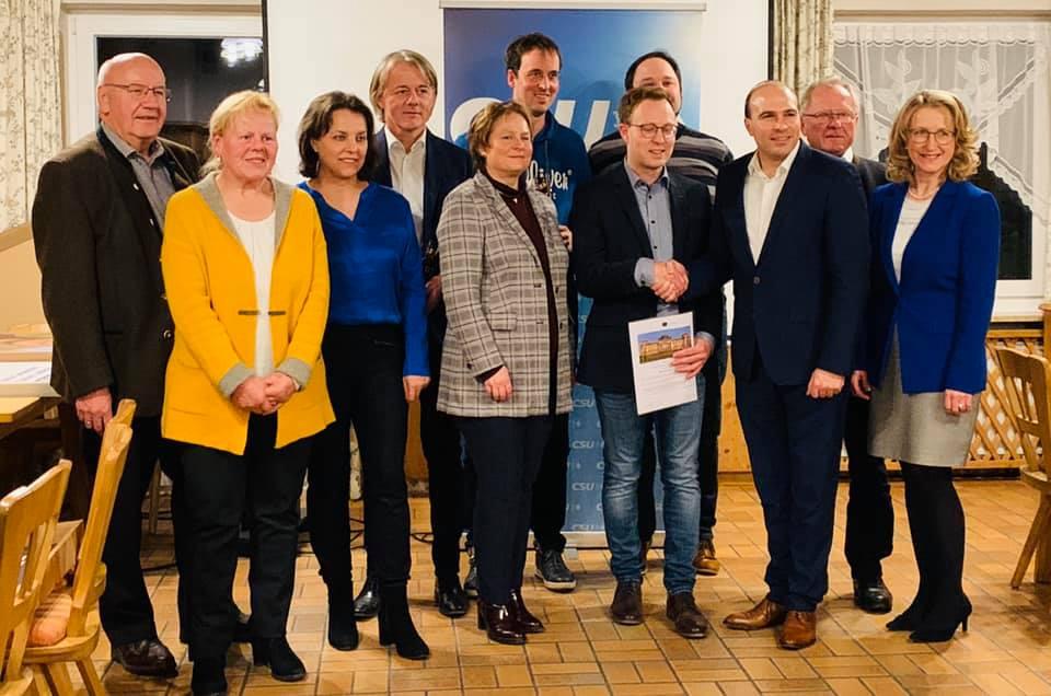 Ortsvorsitzendenkonferenz des CSU KV Landshut Land